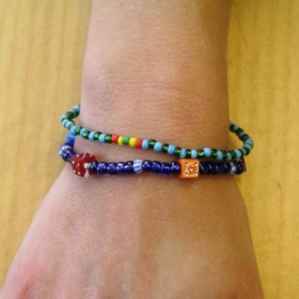Armbånd til børn. Fra Mali.
