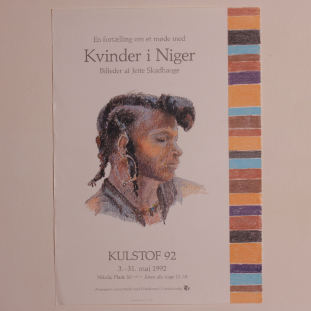 Plakat: Kvinder i Niger